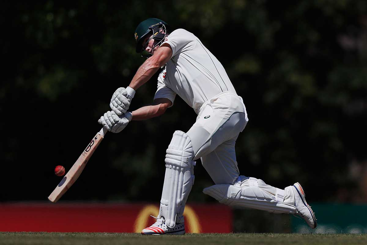 Warner retires hurt after being struck by bouncer