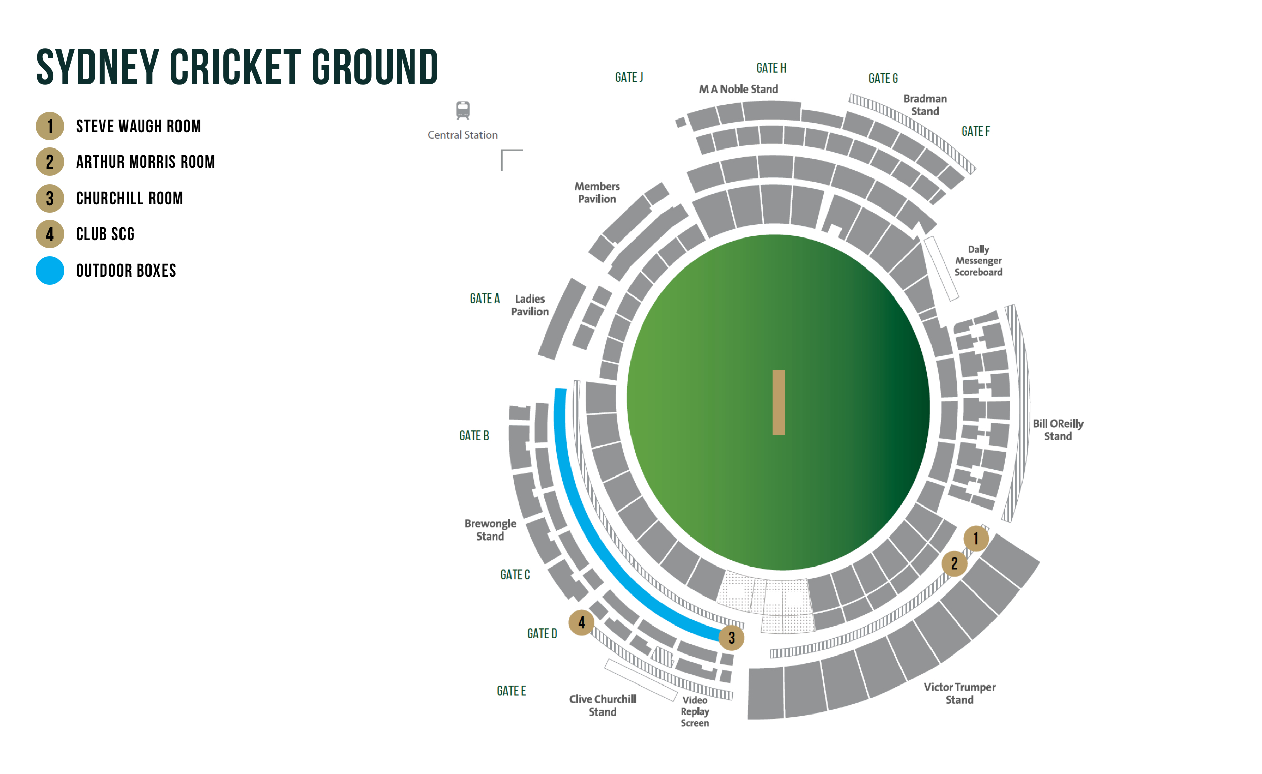 Cricket Australia Official Hospitality