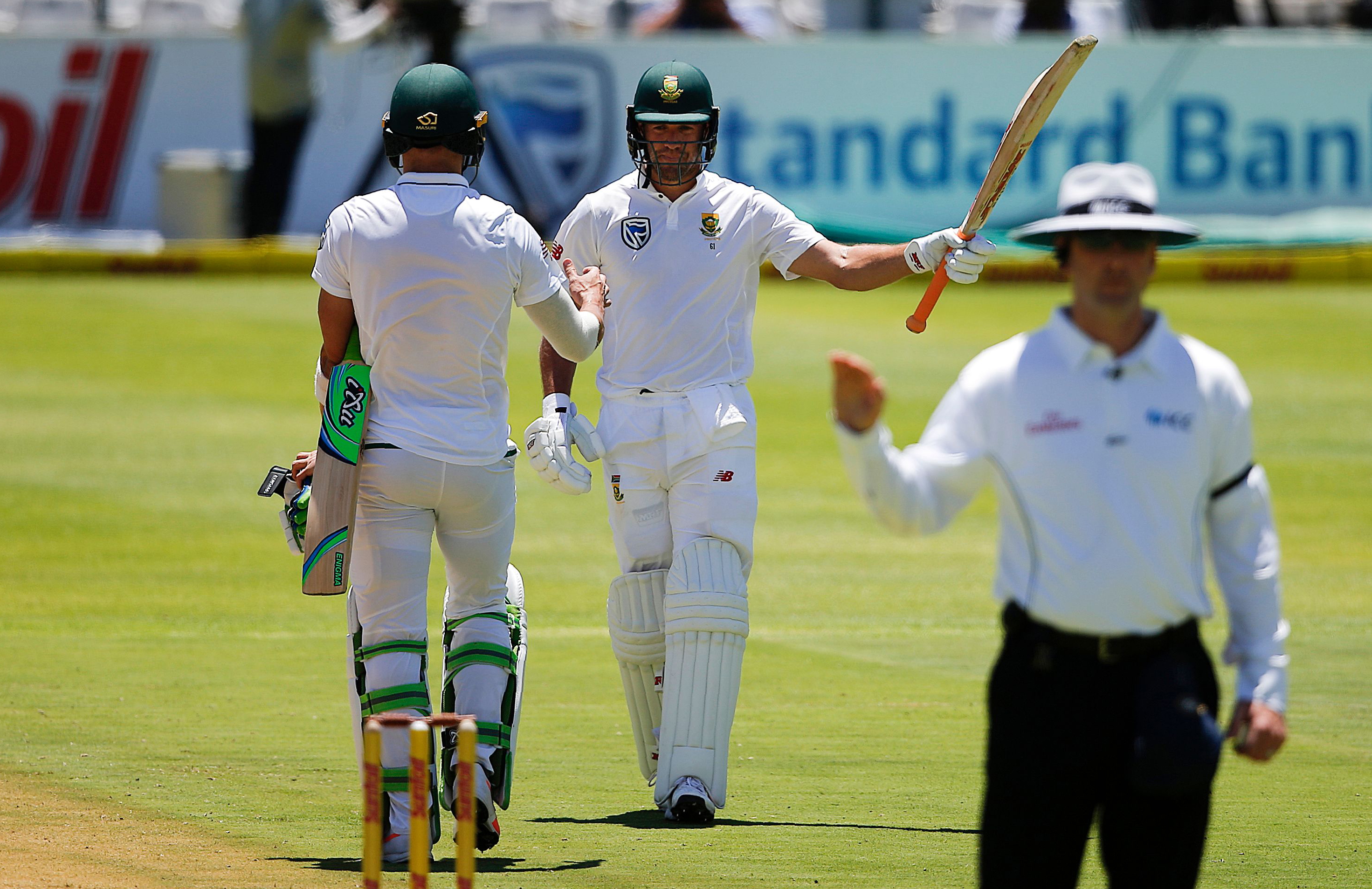 De Villiers celebrates a counter-attacking half-century // Getty