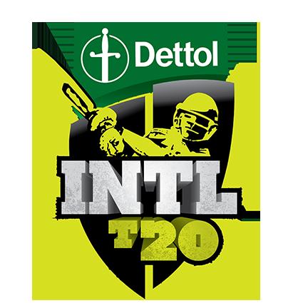 Dettol T20I v New Zealand logo