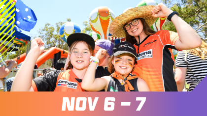 image for Festival Weekend - WACA Ground