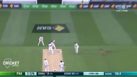 D3: Australia v Pakistan, first session
