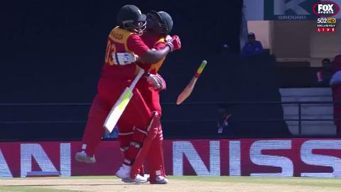 Heavy-Zimbabwean-collision-leads-to-a-wicket-still