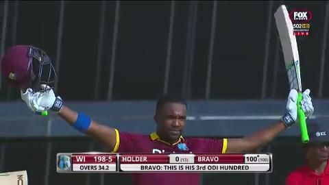 Bravo leads Windies fightback