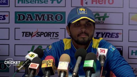 Chandimal fears Mathews is out for the series