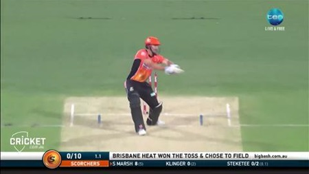 Highlights: Tye takes hat-trick as Perth scorch Heat