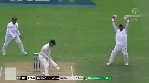 Unbelievable catch by Bangladesh keeper Kayes