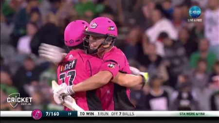 Abbott cameo inspires Sixers to victory