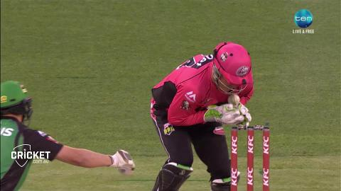 Haddin completes stumping after fumbles