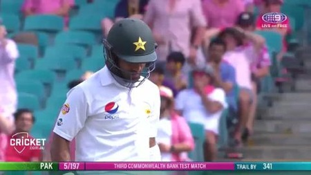 Replay all of the Pakistan wickets