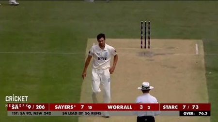 Super Starc snares career-best figures