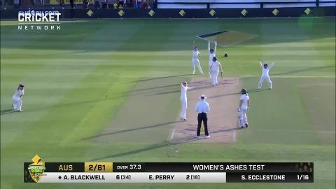 Extended highlights: Day 2 Women's Ashes Test | cricket com au