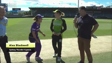 Hall caught out at the coin toss