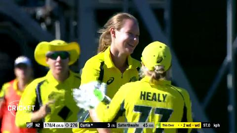 Cheatle claims maiden ODI wicket on debut