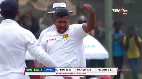 Herath hands SL win with record-breaking haul