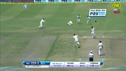 Cummins strikes to continue Kohli's lean run | cricket com au