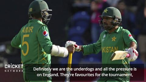 'All the pressure is on England': Sarfraz