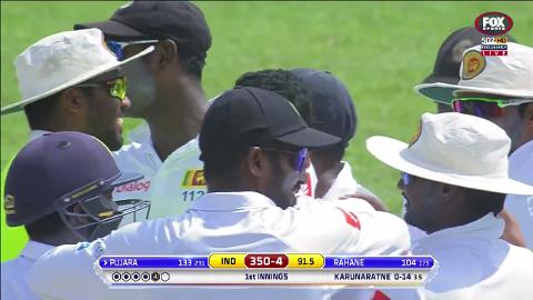Karunaratne's first Test wicket one to remember