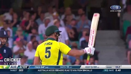 Finch gets Aussies off to flyer with quickfire fifty