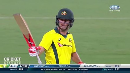 Marsh fifty edges Aussies closer in tight ODI chase