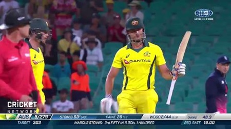 Mighty Marcus powers fifty but Aussies fall short