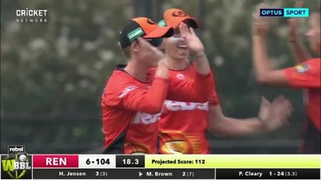 Cleary's double strike hurts Renegades