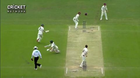 Collision costs Doran his wicket in Brisbane