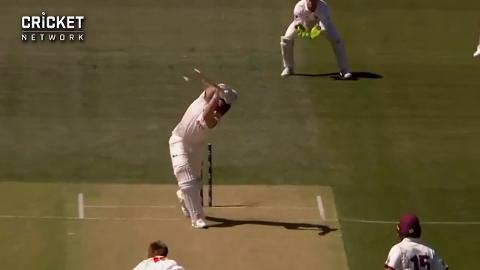 Renshaw-and-Labuschagne-fall-early-in-Adelaide-still