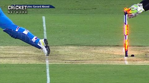 Rahul-out-after-tight-Carey-stumping-still