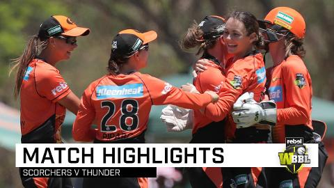 Scorchers hold on in WBBL thriller