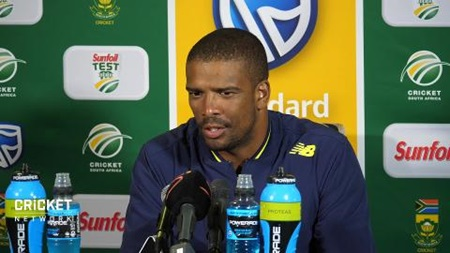 Philander on Rabada's day one performance
