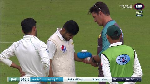 Babar Azam ruled out of tour with broken arm