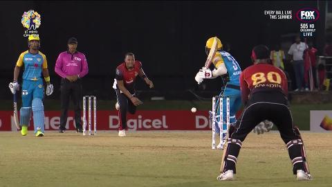 Warner slips, Fawad sizzles in CPL opener