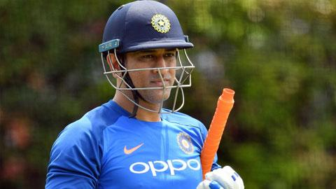 Dhoni takes to the nets ahead of SCG ODI