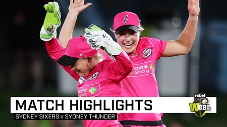 Perry's Sixers too strong for Thunder in WBBL opener