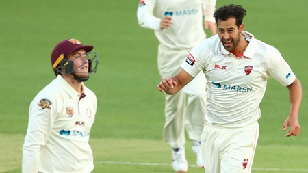 Wes Agar's stunning start to Sheffield Shield career