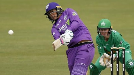 Chloe Tryon blitzes through first WBBL innings