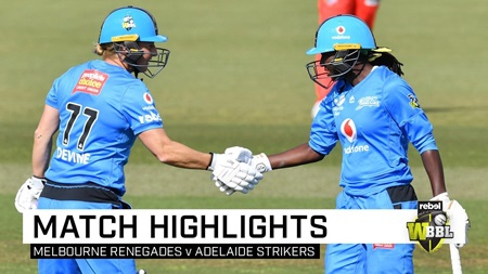 Strikers cruise home after Devine's big knock