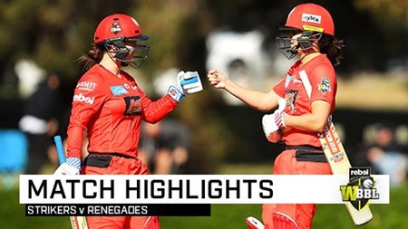 Renegades get instant revenge over Strikers in Adelaide