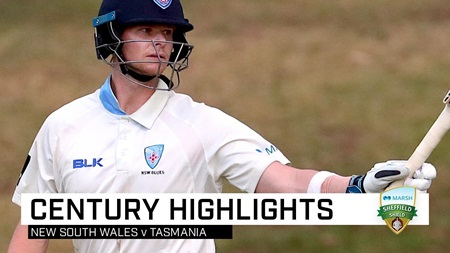 Sublime Smith racks up superb Sheffield Shield ton