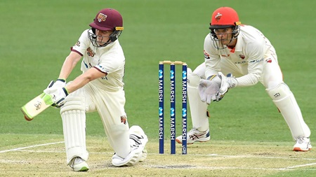 Street sweeps to fifty on Sheffield Shield debut