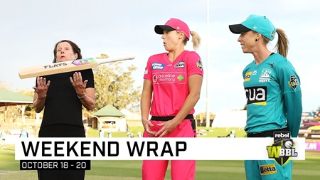 The top moments from WBBL|05 Opening Weekend