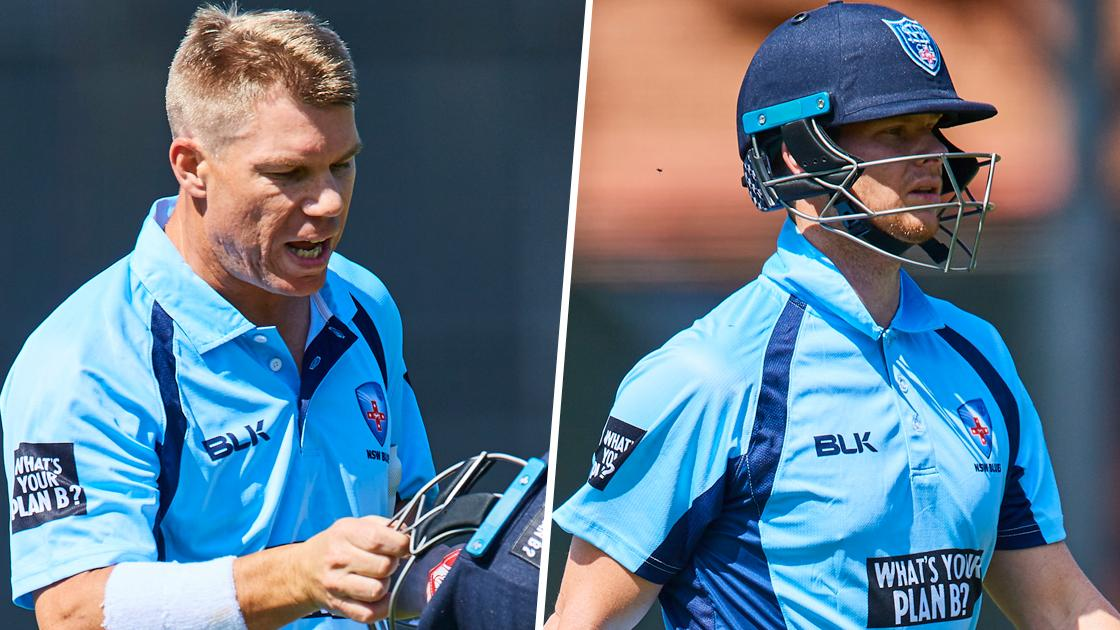 Smith, Warner sent packing by giant-slayer Meredith
