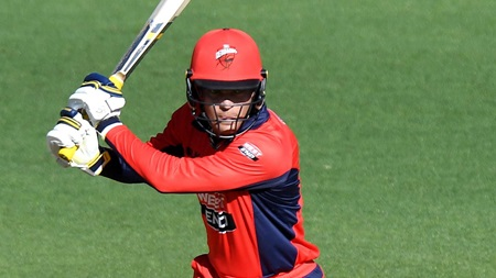 Carey blasts rapid half-century in Marsh Cup