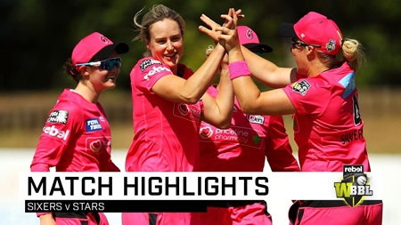 Kapp hat-trick leads Sixers to emphatic win
