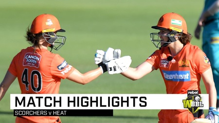 Scorchers burn past Heat in Brisbane
