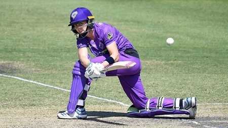 Knight charges her way to unbeaten fifty