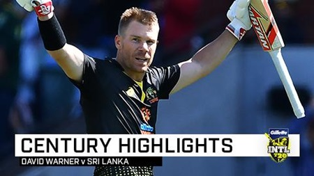 Warner blazes T20 ton to open Australian summer