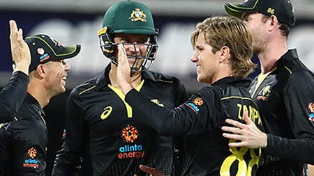 'I've never seen it before': Zampa's take on second T20I