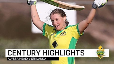 Healy blazes another ton as Aussies sweep series